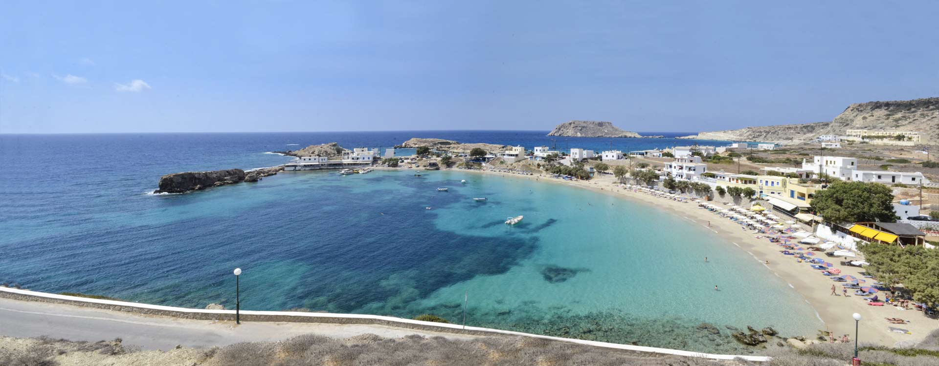 Welcome to Lefkos Studios and Apartments, Lefkos, Karpathos